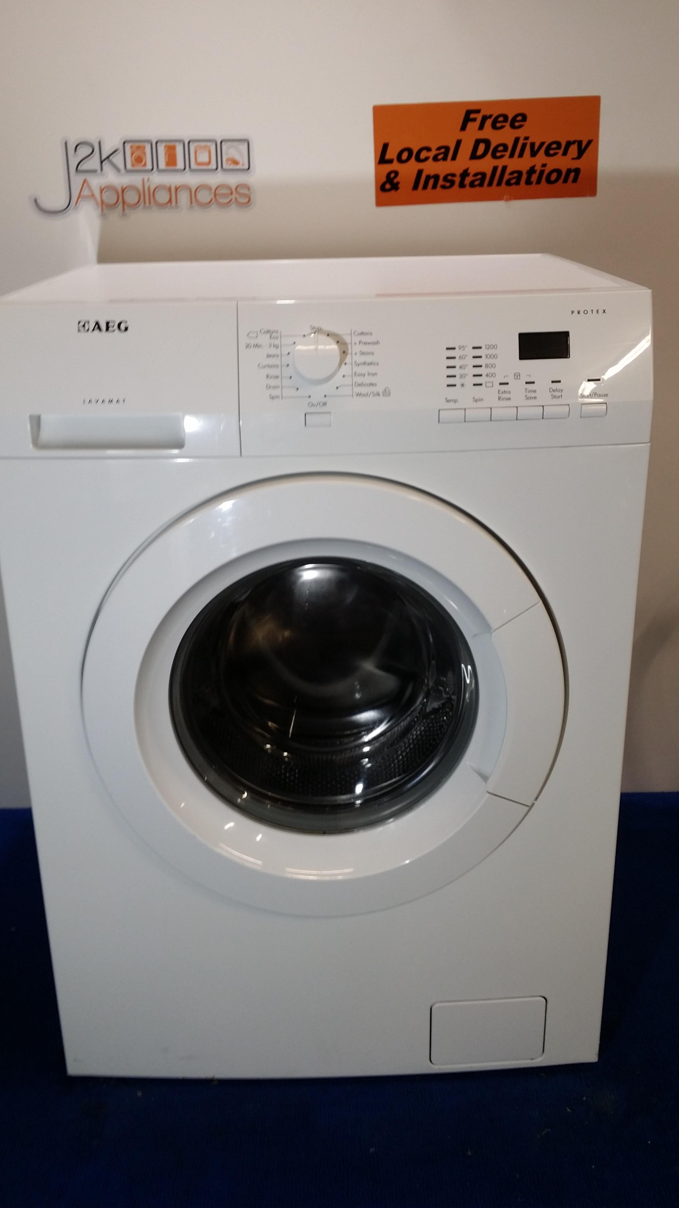 wm159 aeg lavamat 1200 spin 7kg load washing machine. Black Bedroom Furniture Sets. Home Design Ideas