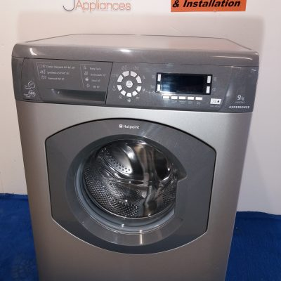 wm246silver hotpoint experience 9kg spin washing machine