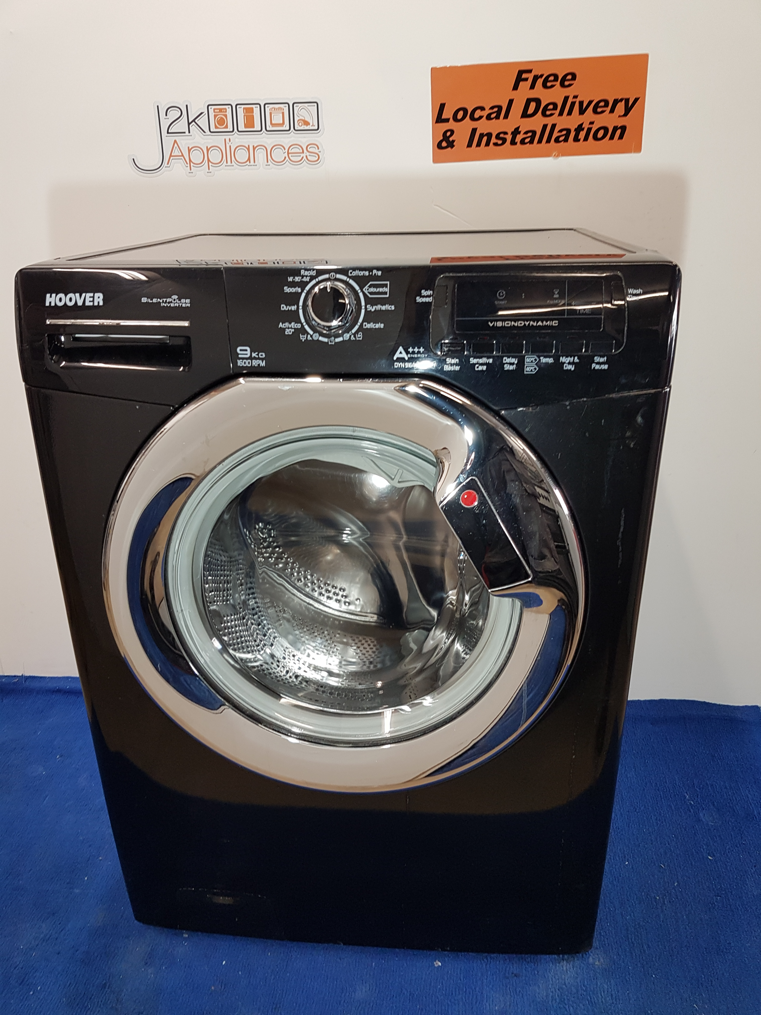 how to cancel delay start on hoover washing machine