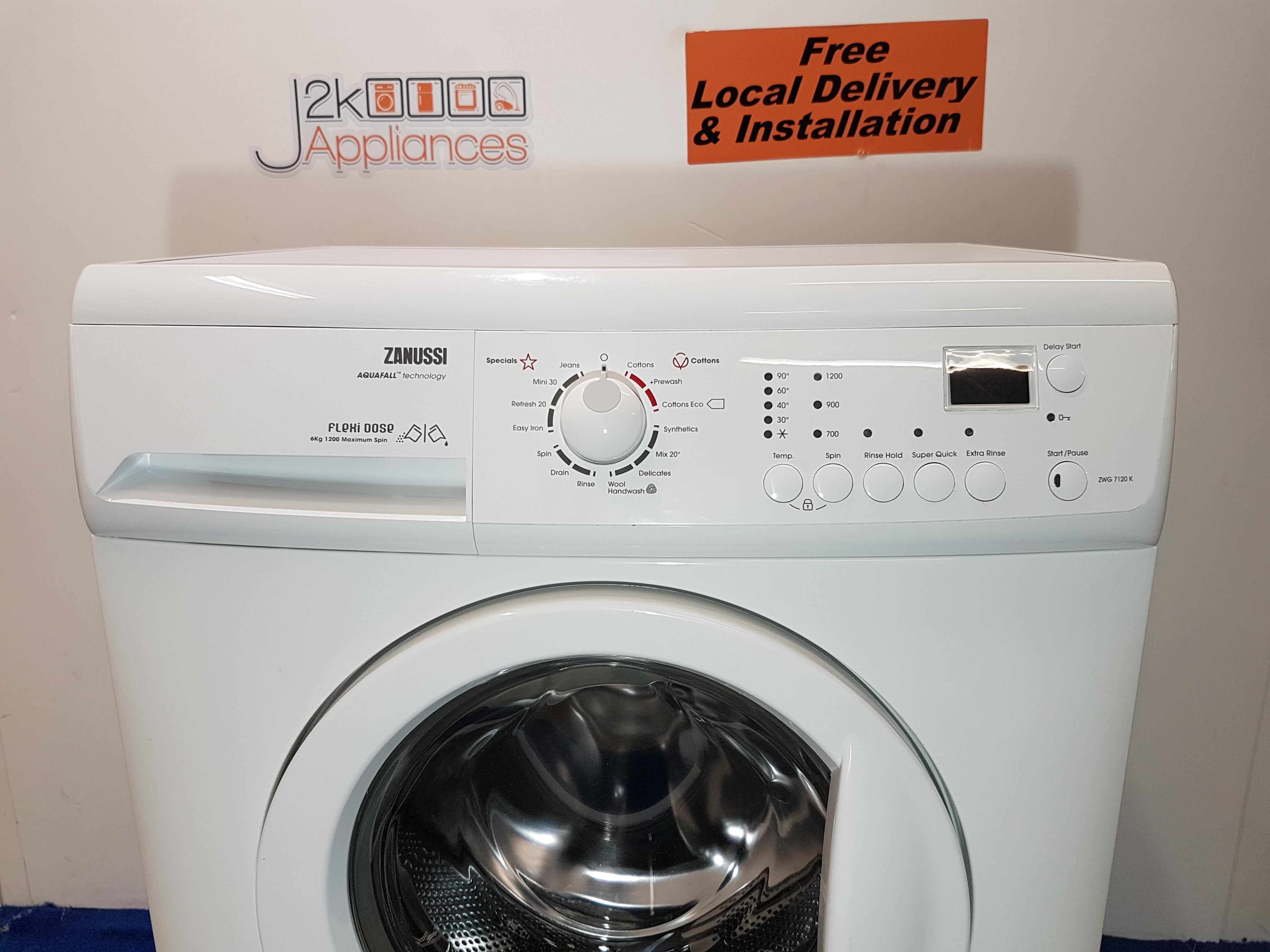 wm290 zanussi flexi dose aqua fall 6kg 1200 spin washing machine rh j2kappliances co uk hotpoint aquarius 1200 wd62 manual hotpoint ultima 1200 washing machine manual