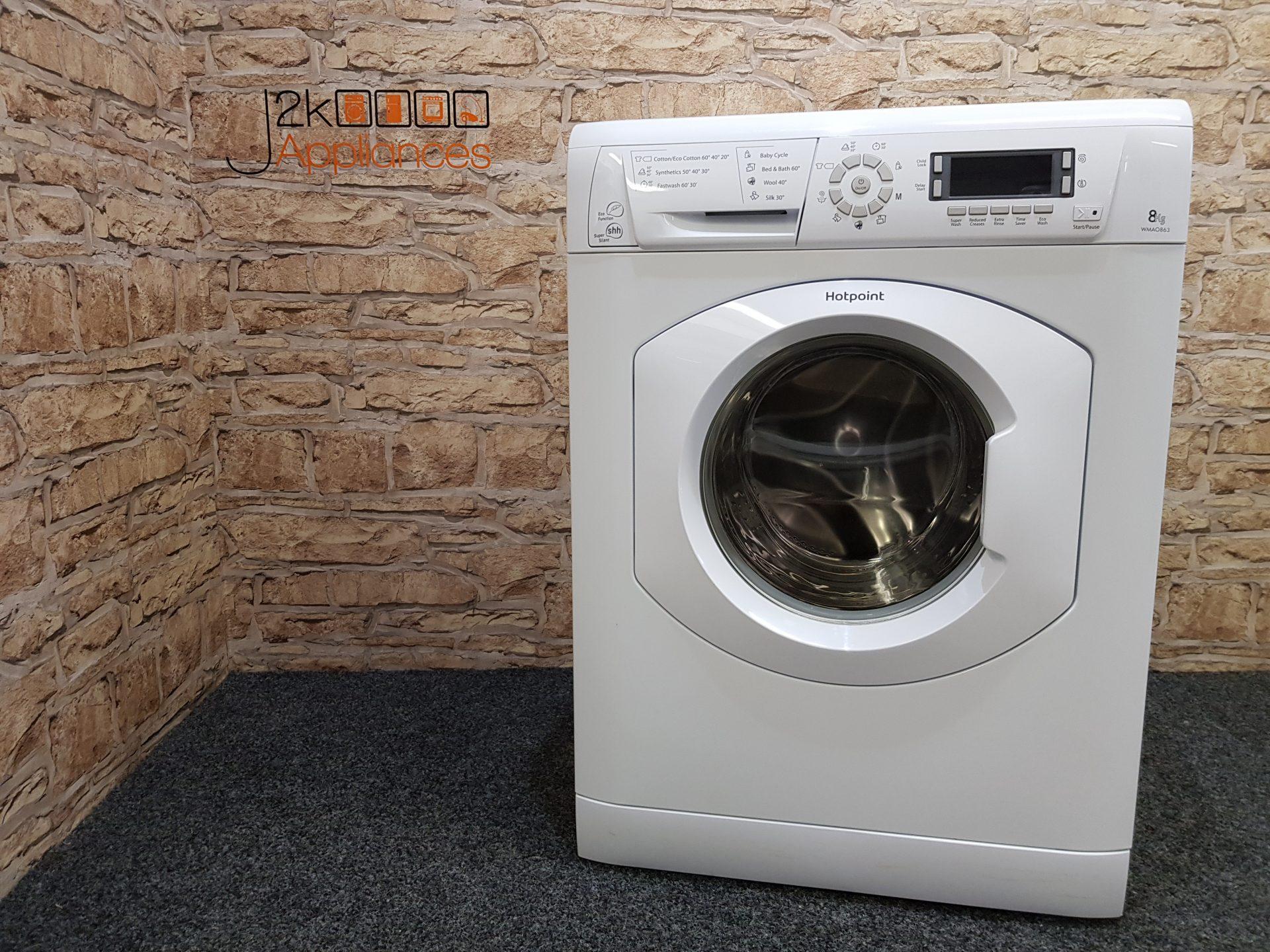 Hotpoint 8kg 1600 Spin Wmao863 Washing Machine J2k